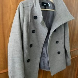 H&M Peacot Fall/Winter Coat Size 4